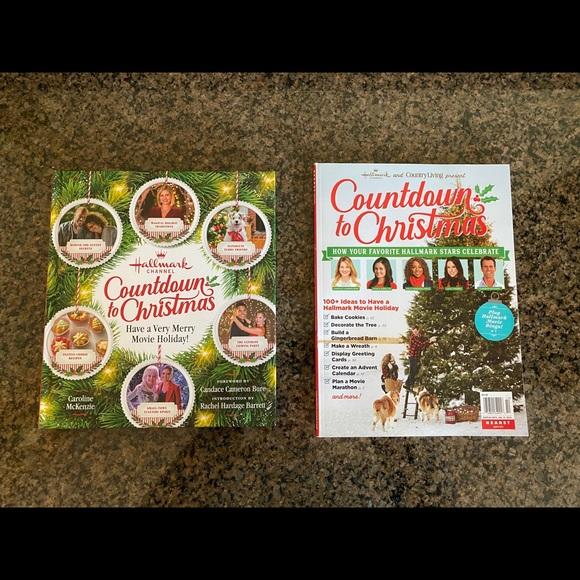 Hallmark Countdown to Christmas book and magazine